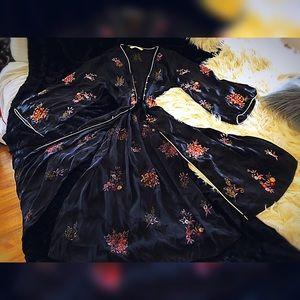 Zara Asian spice kimono